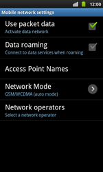 Samsung I9001 Galaxy S Plus - Internet - Manual configuration - Step 6