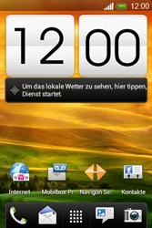 HTC Desire C - Internet - Internetverbindung - Manuelle Einstellung - Schritt 1