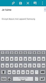 Samsung Galaxy Note 4 - E-mails - Envoyer un e-mail - Étape 10