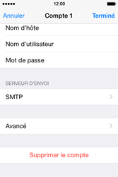 Apple iPhone 4s iOS 8 - E-mail - Configuration manuelle - Étape 21