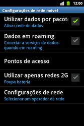 Samsung Galaxy Ace - Internet - Como configurar seu celular para navegar através de Vivo Internet - Etapa 7
