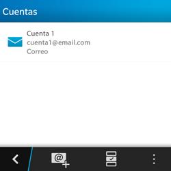 BlackBerry Q5 - E-mail - Configurar correo electrónico - Paso 16