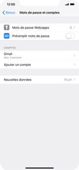 Apple iPhone XR - E-mail - Configuration manuelle (gmail) - Étape 9