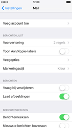 Apple iPhone 6 iOS 10 - E-mail - Account instellen (POP3 zonder SMTP-verificatie) - Stap 4