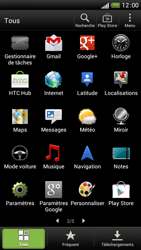 HTC One S - Applications - Supprimer une application - Étape 3