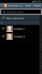 Samsung I9305 Galaxy S III LTE - Contacten en data - Contacten kopiëren van SIM naar toestel - Stap 6