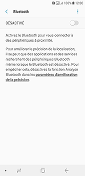 Samsung Galaxy A6 - Bluetooth - connexion Bluetooth - Étape 8