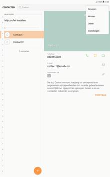 Samsung Galaxy Tab A 10.1 - Android Nougat - Contacten en data - Contacten kopiëren van SIM naar toestel - Stap 5