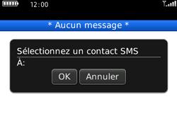 BlackBerry 8520 - Contact, Appels, SMS/MMS - Envoyer un SMS - Étape 6