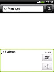 HTC A3333 Wildfire - MMS - envoi d'images - Étape 6
