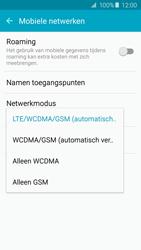 Samsung A310F Galaxy A3 (2016) - Netwerk - Wijzig netwerkmodus - Stap 6
