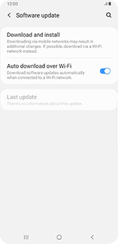 Samsung galaxy-s9-plus-android-pie - Device - Software update - Step 6