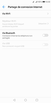 Huawei Y6 (2018) - Internet et connexion - Utiliser le mode modem par USB - Étape 5