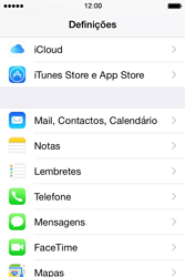Apple iPhone 4S iOS 8 - Email - Adicionar conta de email -  3