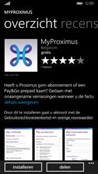 Nokia Lumia 830 - Applicaties - MyProximus - Stap 8