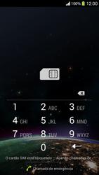 Sony C5303 Xperia SP - Primeiros passos - Como ativar seu aparelho - Etapa 4