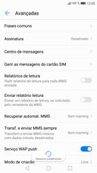 Huawei P9 Lite - Android Nougat - SMS - Como configurar o centro de mensagens -  7
