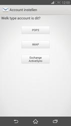 Sony D6603 Xperia Z3 - E-mail - e-mail instellen: IMAP (aanbevolen) - Stap 7