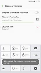 Samsung Galaxy A3 (2017) - Chamadas - Como bloquear chamadas de um número -  11