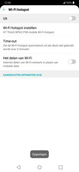 LG g7-thinq-lm-g710em - WiFi - Mobiele hotspot instellen - Stap 8