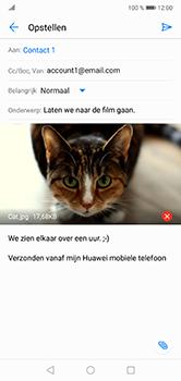Huawei P20 Lite - E-mail - hoe te versturen - Stap 15