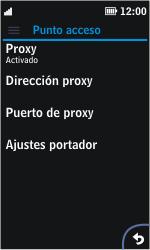 Nokia Asha 311 - Mensajería - Configurar el equipo para mensajes multimedia - Paso 10