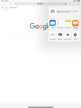 Apple ipad-pro-12-9-inch-2018-model-a1895 - Internet - Hoe te internetten - Stap 5