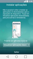 LG Y50 / LEON - Primeiros passos - Como ligar o telemóvel pela primeira vez -  17