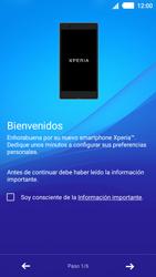 Sony Xperia M4 Aqua - Primeros pasos - Activar el equipo - Paso 5