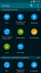 Samsung G900F Galaxy S5 - Rede móvel - Como ativar e desativar o modo avião no seu aparelho - Etapa 4