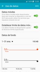 Samsung Galaxy A5 (2016) - Internet - Ver uso de datos - Paso 9