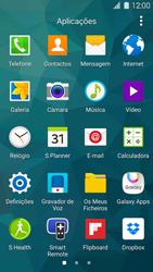 Samsung Galaxy S5 - Segurança - Como ativar o código de bloqueio do ecrã -  3
