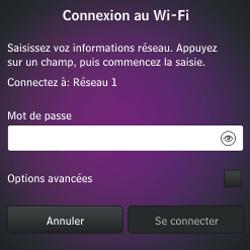 BlackBerry Q10 - Premiers pas - Créer un compte - Étape 8