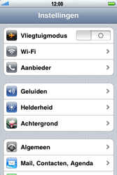 Apple iPhone 3G S - Wifi - handmatig instellen - Stap 3