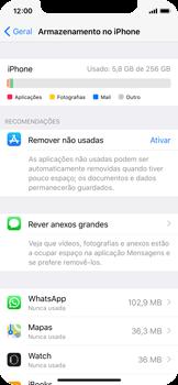 Apple iPhone X - Aplicações - Desinstalar/remover aplicação -  5