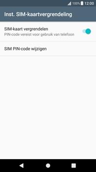 Sony Xperia XA1 Plus (G3421) - Beveiliging en ouderlijk toezicht - Hoe wijzig ik mijn SIM PIN-code - Stap 6