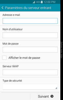 Samsung N915FY Galaxy Note Edge - E-mail - Configuration manuelle - Étape 8
