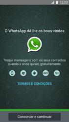 Samsung Galaxy S5 - Aplicações - Como configurar o WhatsApp -  5