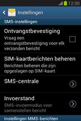 Samsung S6790 Galaxy Fame Lite - SMS - handmatig instellen - Stap 8