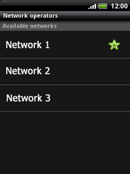 HTC A3333 Wildfire - Network - Usage across the border - Step 10