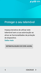 Wiko Fever 4G - Primeiros passos - Como ligar o telemóvel pela primeira vez -  12