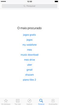 Apple iPhone 6s Plus - Aplicações - Como pesquisar e instalar aplicações -  10