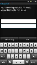 Sony LT22i Xperia P - E-mail - Manual configuration - Step 6
