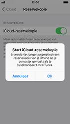 Apple iPhone 5s - iOS 12 - toestel resetten - back-up maken met jouw account - stap 13