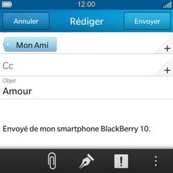 BlackBerry Q5 - E-mail - envoyer un e-mail - Étape 9