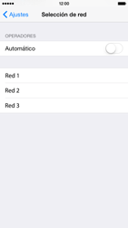 Apple iPhone 6 iOS 8 - Red - Seleccionar una red - Paso 6