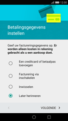 Huawei P8 - Applicaties - Account aanmaken - Stap 16