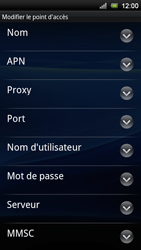 Sony Ericsson Xperia Neo V - Internet - Configuration manuelle - Étape 11