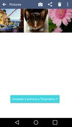 LG K10 4G - Bluetooth - Transferir archivos a través de Bluetooth - Paso 12