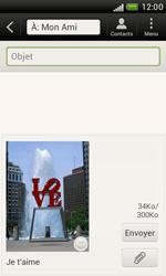 HTC T328e Desire X - MMS - Envoi d